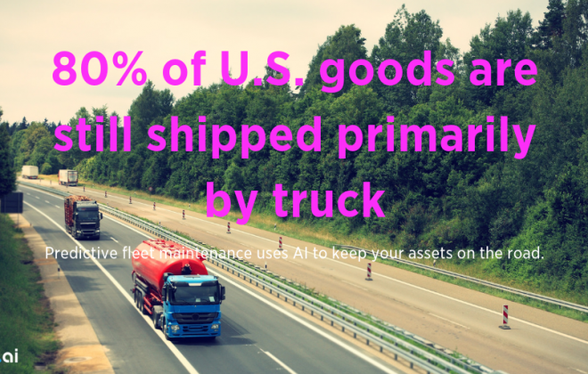 80% US Goods Still Shipped By Truck