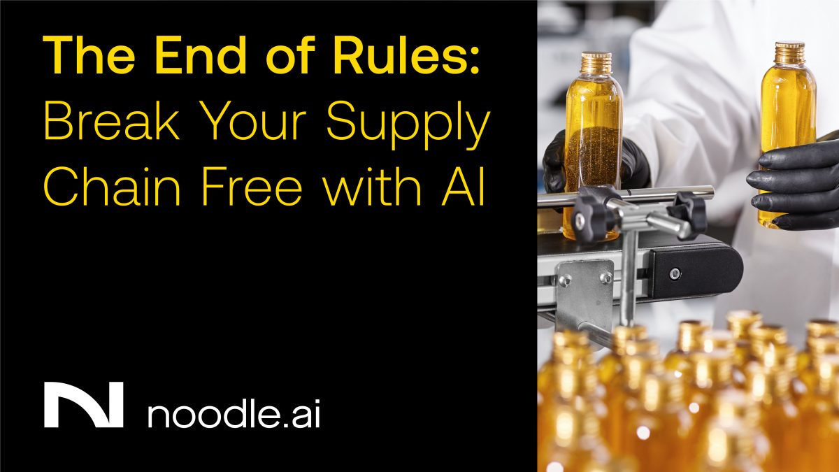 Break Rules of Supply Chain with AI Webcast Replay