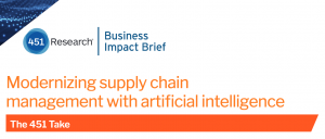 Modernizing supply chain management with artificial intelligence