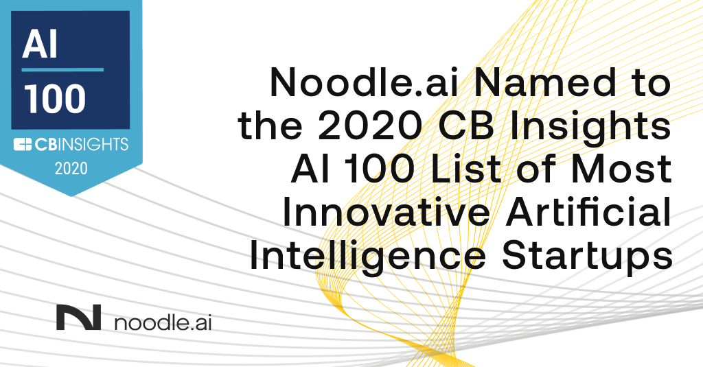 CB Insights Adds Noodle.ai to AI 100 List