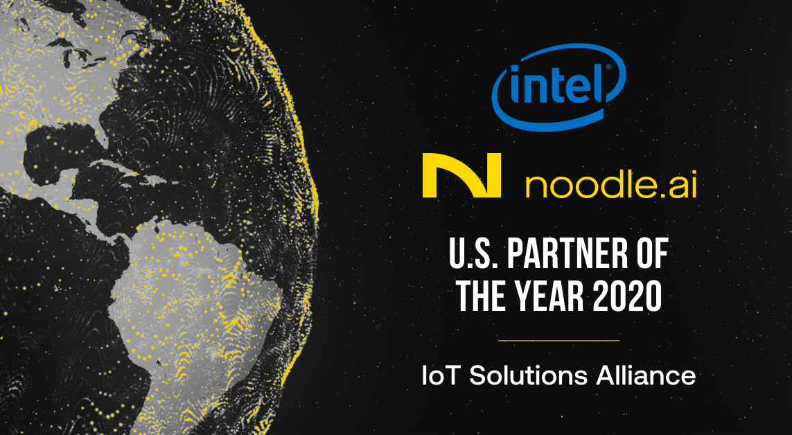 Noodle is 2020 US Partner of the Year at Intel